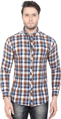 Club Martin Men Checkered Casual Shirt