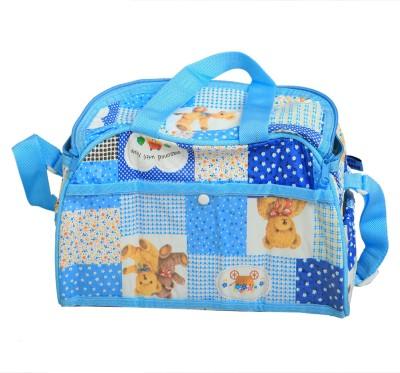 KUBER INDUSTRIES Mama's, Baby Carrier, Diaper   Travelling Bag Nursery Baby Diaper Bag Blue KUBER INDUSTRIES Diaper Bags