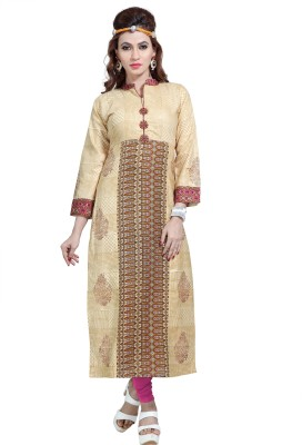 MORNI Casual Printed Women Kurti(Multicolor)