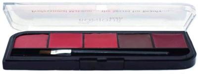 Coat Me Bonjour Paris Proffessional Lip Palette - Shade 10(Multi)