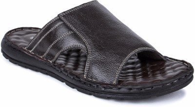Spunk Men Brown Sandals at flipkart