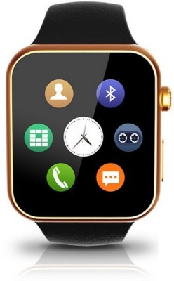 SYL Galaxy Ace golden Smartwatch(Gold Strap Regular) at flipkart