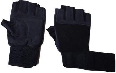 greenbee My GLOVES Gym & Fitness Gloves (Men, Grey)