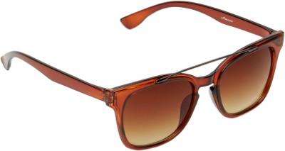 Amaze Oval Sunglasses(Brown)