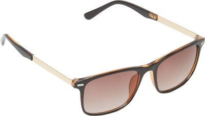 Amaze Wayfarer Sunglasses(Brown)