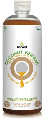 Unived Raw Coconut Vinegar (500 ml)
