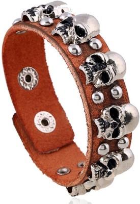 Silverstoli Alloy, Leather Bracelet at flipkart