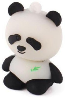 Microware Panda Shape 32  GB Pen Drive White, Black