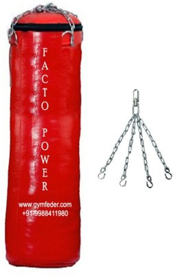 FACTO POWER 3.0 FEET LONG , SRF - ECONOMIC MATERIAL , UNFILLED WITH CHAIN Hanging Bag(3, 1 kg)