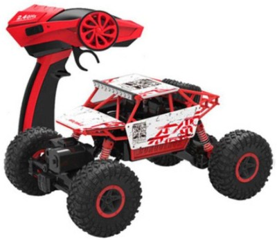 Dhawani Radio Control 4wd Rally Rock Crawler Monster Truck(Multicolor) at flipkart