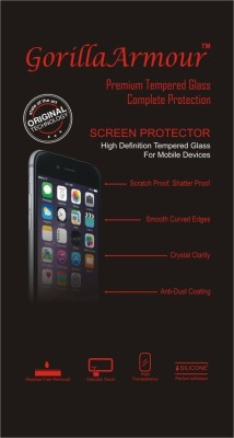 Gorilla Armour Tempered Glass Guard for Mi Redmi 4 at flipkart