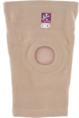 Flamingo Open Patella knee cap Knee Support (XL, Cream)