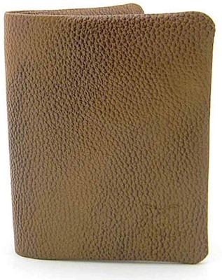 Must Not Just Leather Men Beige Genuine Leather Wallet(3 Card Slots)  available at flipkart for Rs.716
