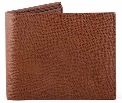 Must Not Just Leather Men Tan Genuine Leather Wallet(9 Card Slots)  available at flipkart for Rs.600