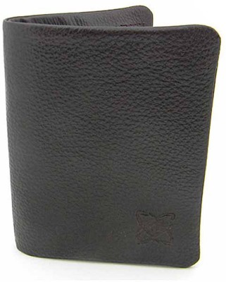 Must Not Just Leather Men Black Genuine Leather Wallet(3 Card Slots)  available at flipkart for Rs.716