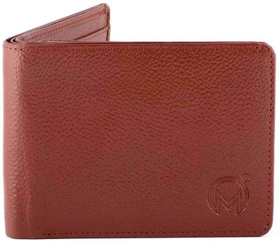 Must Not Just Leather Men Tan Genuine Leather Wallet(6 Card Slots)  available at flipkart for Rs.600