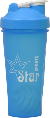 mega star Gym Shaker 600 ml Sipper (Pack of 1, blue) 600 ml Shaker, Bottle, Sipper(Pack of 1, Blue)  available at flipkart for Rs.251