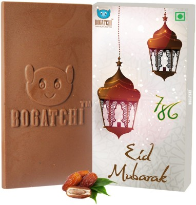 Bogatchi Natural Milk Choco Bars(80)
