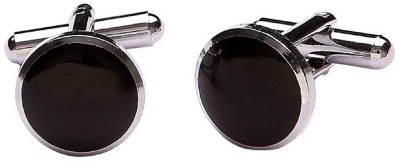 FashMade Brass cufflink(Black)  available at flipkart for Rs.125