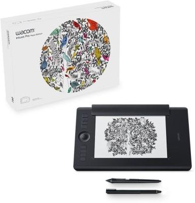 WACOM intuos pro paper edition PTH660/K1-CX 13.3 x 8.6 inch Graphics Tablet(Black)