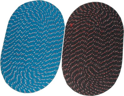 chiku'n'cherry Cotton Door Mat(Multicolor, Medium) at flipkart