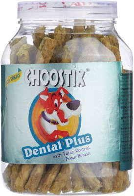 Choostix Dental Plus Chew Mint Dog Treat(500 g, Pack of 2)