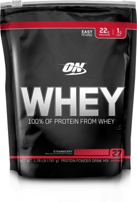 Optimum Nutrition Whey Whey Protein(797 g, Strawberry)