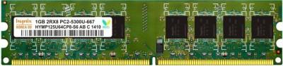 Hynix Genuine DDR2 1 GB (Single Channel) PC (Hynix DDR2 1Gb PC RAM)(Green)