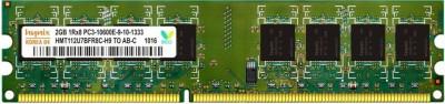 Hynix Genuine DDR3 2 GB (Single Channel) Laptop (Hynix DDR3 2GB Laptop RAM)(Green)