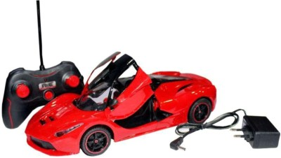 Dhawani Racing Remote Control Car with Open Door(Red)  available at flipkart for Rs.799