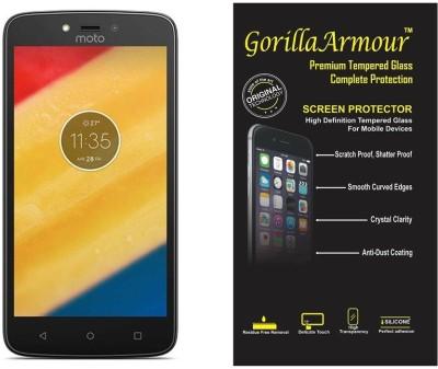 Gorilla Armour Tempered Glass Guard for Motorola Moto C, Motorola Moto C Plus(Pack of 1)