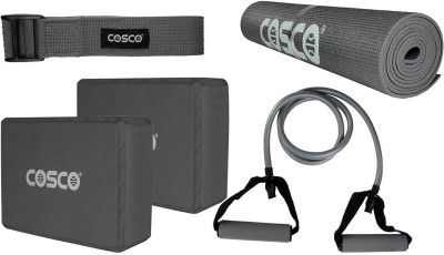 Cosco Yoga Set Mudra Multicolor 4mm Exercise & Gym Mat  available at flipkart for Rs.1314