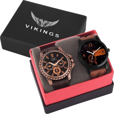 VIKINGS Royal Combo of Exclusive watches Watch  - For Men   Watches  (VIKINGS)