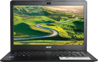 Acer Celeron Dual Core - (2 GB/500 GB HDD/DOS) One 14 Laptop(14 inch, Black, 1.65 kg)