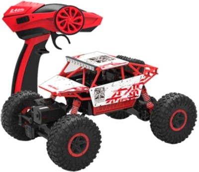 Dhawani 1:18 Scale Rock Crawler Red Cars(Red) at flipkart
