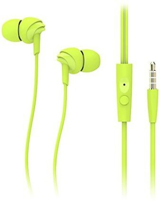 Shrih Stereo Earphone in Line Control With Mic Smart Headphones Wired