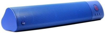 ReTrack WM-1300 L Size High Bass Wireless Soundbar Support Fm TF Card USB Slot Portable Bluetooth Mobile/Tablet Speaker(Blue, 2.1 Channel)