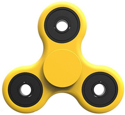 Gadget Hero's Fidget Spinner for ADD, ADHD, Anxiety and Autism(Yellow)  available at flipkart for Rs.299