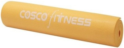 Cosco Fitness Power Yoga Exercise Mat Yellow 5 mm Yoga Mat  available at flipkart for Rs.780