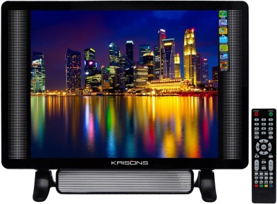KRISONS 48.26cm (19 inch) HD Ready LED TV(KTV19SB)