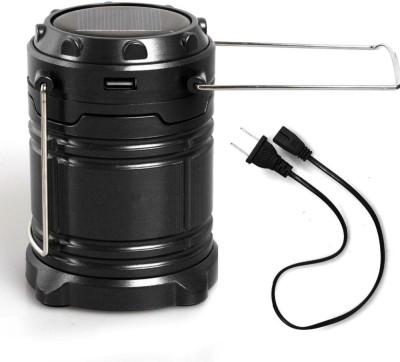 Wonder World™ Solar LED Lantern -NEW COB Technology emits 300 LUMENS! - Collapsible Tough Lamp(Black)