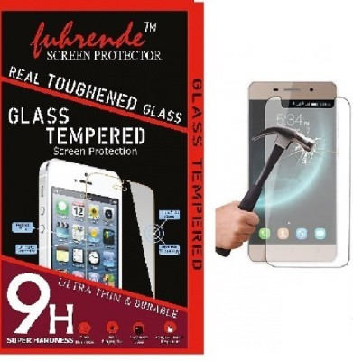 Fuhrende Tempered Glass Guard for Intex Aqua Amaze Plus(Pack of 1)