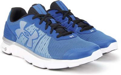 Under Armour UA Micro G Speed Swift Running Shoes(Blue, White) at flipkart