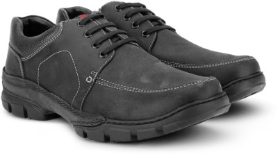 Pavers England Genuine Leather Outdoors(Black) at flipkart