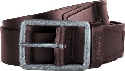 659a4cd60 Levitate Men Brown Genuine Leather Belt available at Flipkart for Rs.229