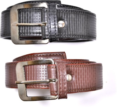 Saugat Traders Men Casual, Formal Black, Brown Artificial Leather Reversible Belt
