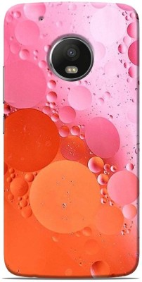 Print Station Back Cover for Motorola Moto G5 Plus Multicolor