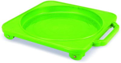JVS CYLINDER TROLLY Gas Cylinder Trolley(Green)  available at flipkart for Rs.375