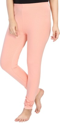 Vestonice Womens Leggings Churidar  Legging(Pink, Solid)  available at flipkart for Rs.149