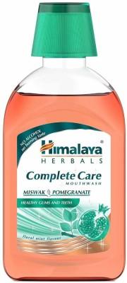 Himalaya Complete Care Mouthwash - Miswak, Pomegranate(215 ml)